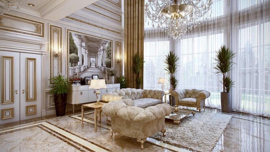 Thiết kế biệt thự 3 tầng với không gian tiện nghi, sang trọng