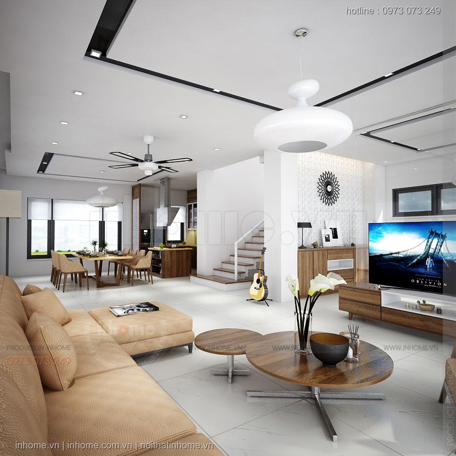 Thiết kế nội thất Biệt Thự liền kề