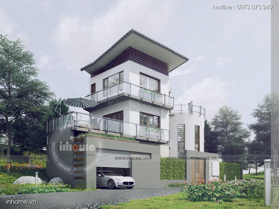 Thiết kế biệt thự đẹp Quảng Ninh