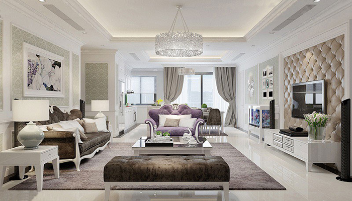Thiết kế nội thất biệt thự tân cổ điển đậm chất nghệ thuật