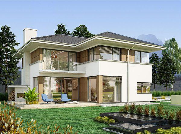 Chi phí thiết kế, xây dựng biệt thự mini thường không quá lớn
