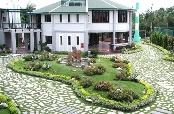 Bản thiết kế biệt thự sân vườn