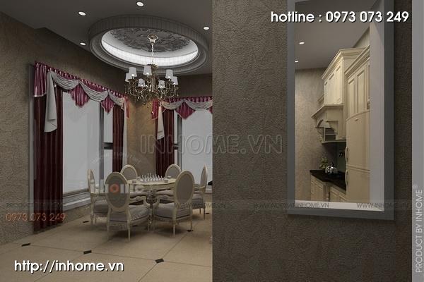 Thiết kế biệt thự phong cách Châu Âu cổ điển đẳng cấp