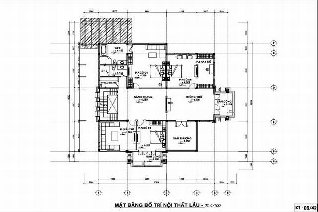 Tư vấn thiết kế biệt thự nhà vườn 300m2 hiện đại sang trọng