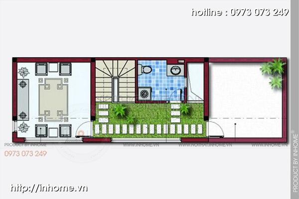Thiết kế nhà chia lô Hà Đông