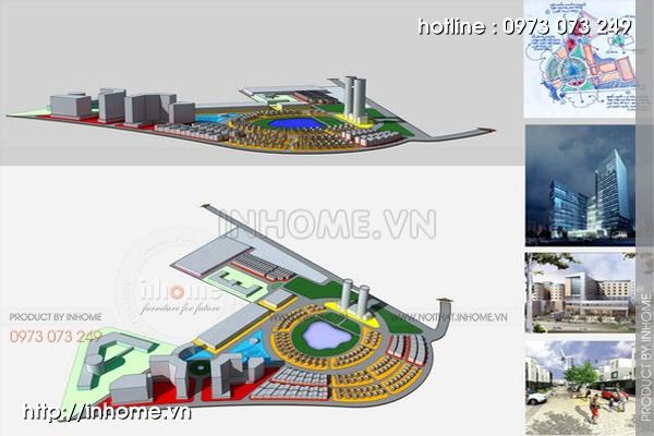 Quy hoạch cảnh quan tây Nam An Khánh