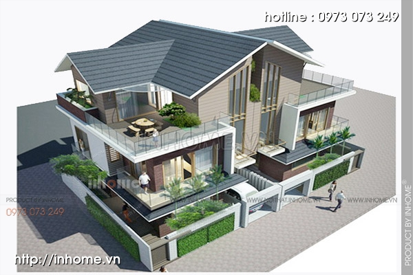 Mẫu thiết kế biệt thự ven biển Việt Nam hiện đại và tinh tế