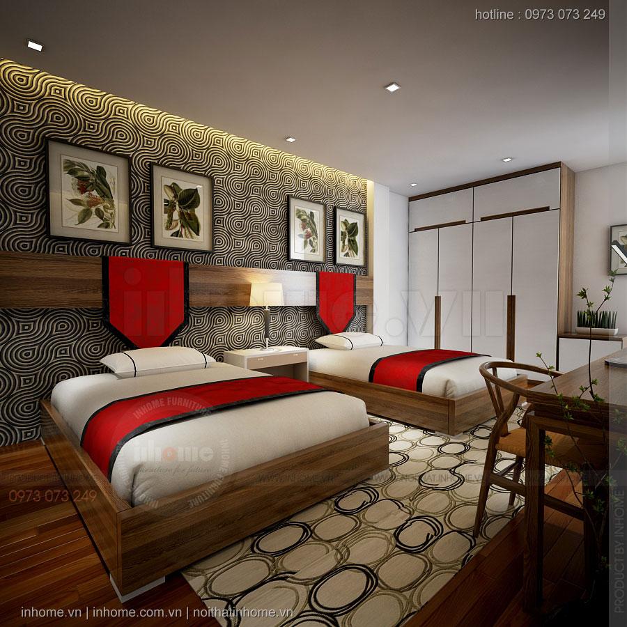 Thiết kế nội thất khách sạn Mini