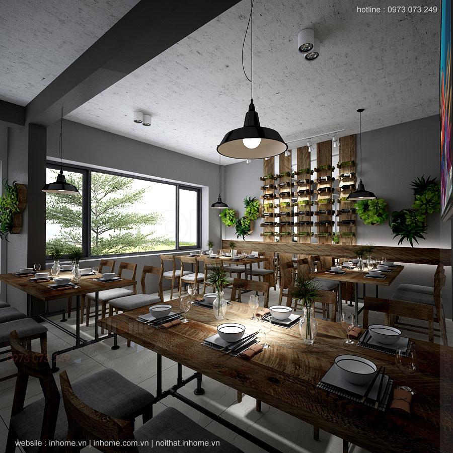 Thiết kế nhà hàng hải sản Ecopark