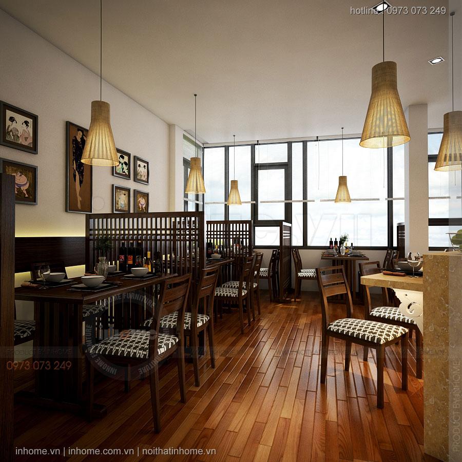 Thiết kế chuỗi nhà hàng Nhật
