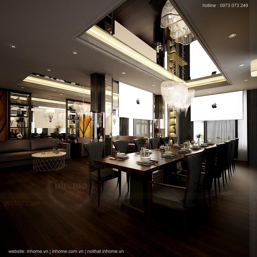 Thiết kế nhà hàng Le Gemme số 9 Dã Tượng