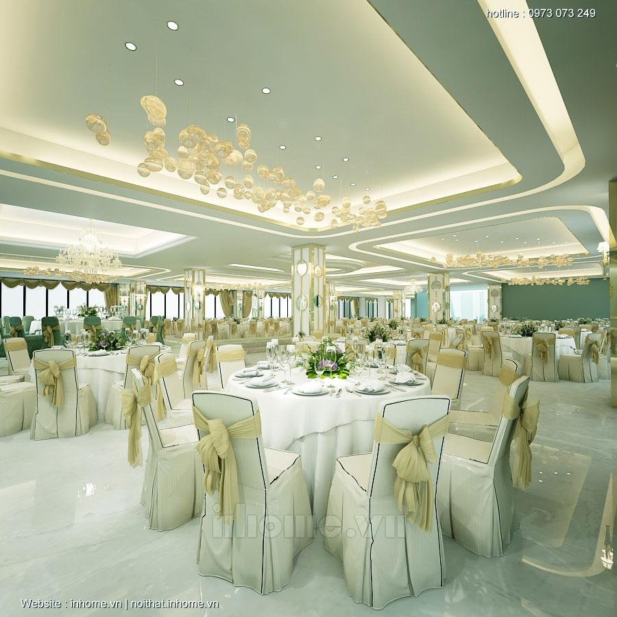 Thiết kế nhà hàng theo phong cách Châu Âu đạt tiêu chuẩn