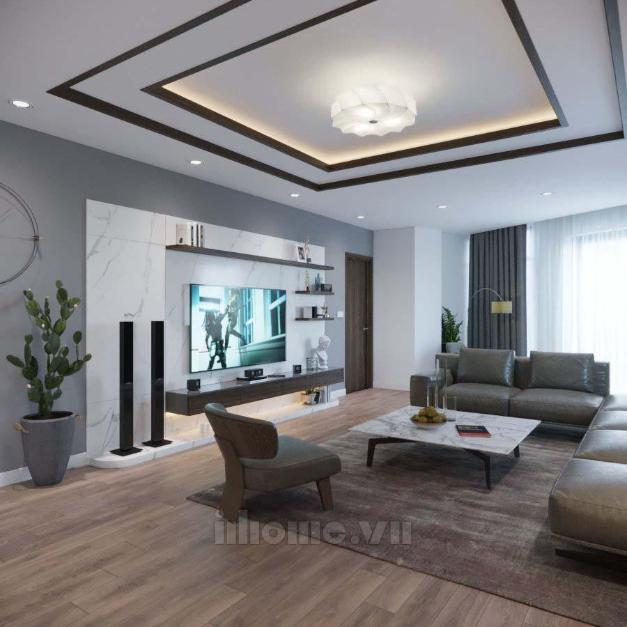 thiết kế nội thất nhà ở Cầu Diễn-Hà No