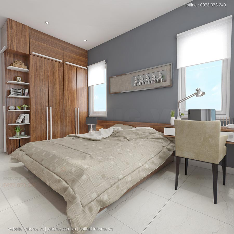 Thiết kế nội thất nhà lô phố Mai Châu
