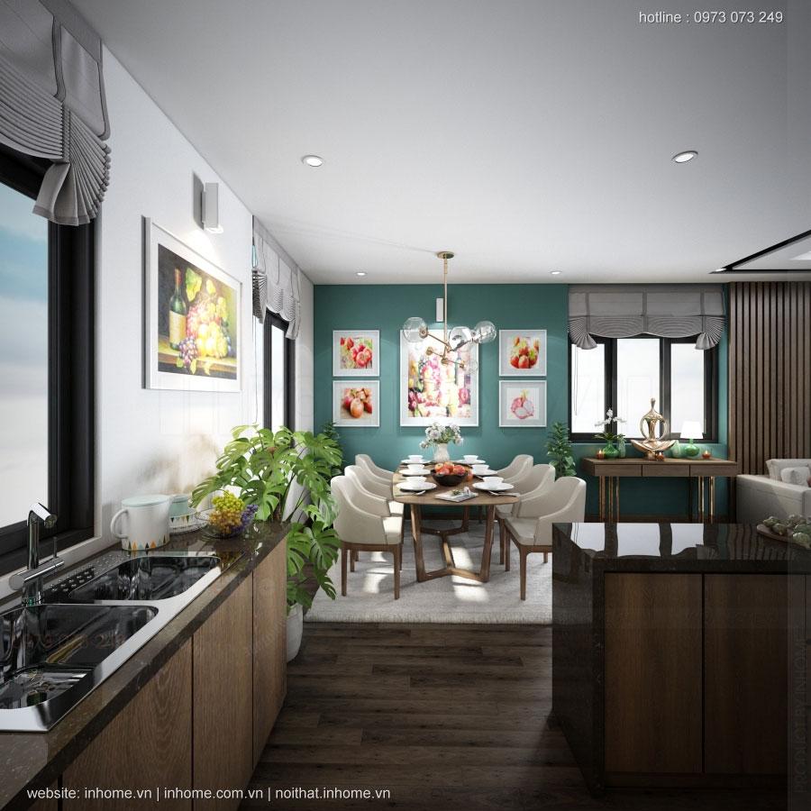 Thiết kế nội thất nhà Hà Đông