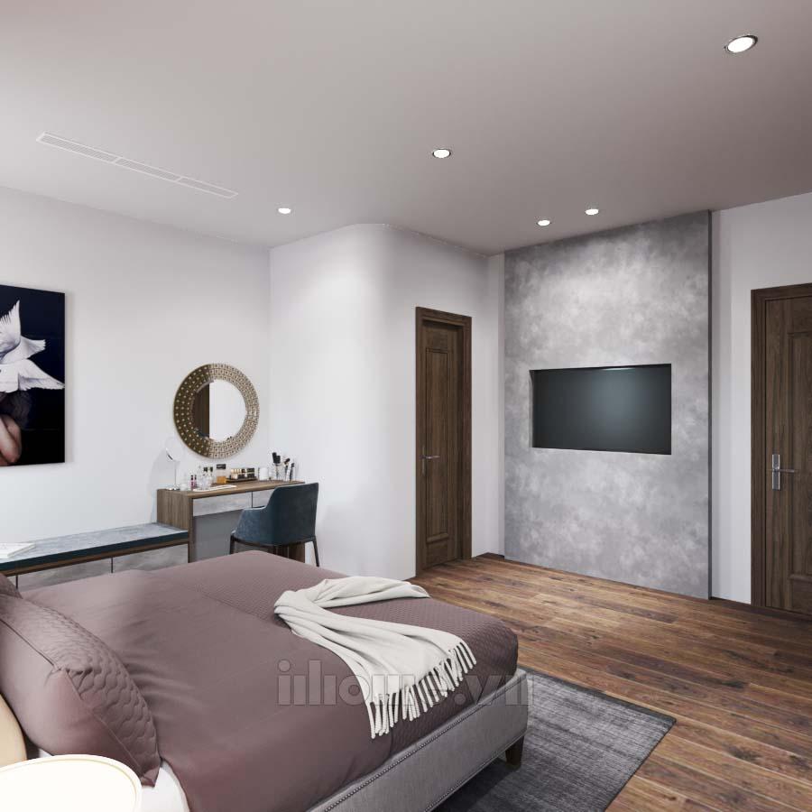 Thiết kế nội thất nhà ở Như Quỳnh Hưng yên