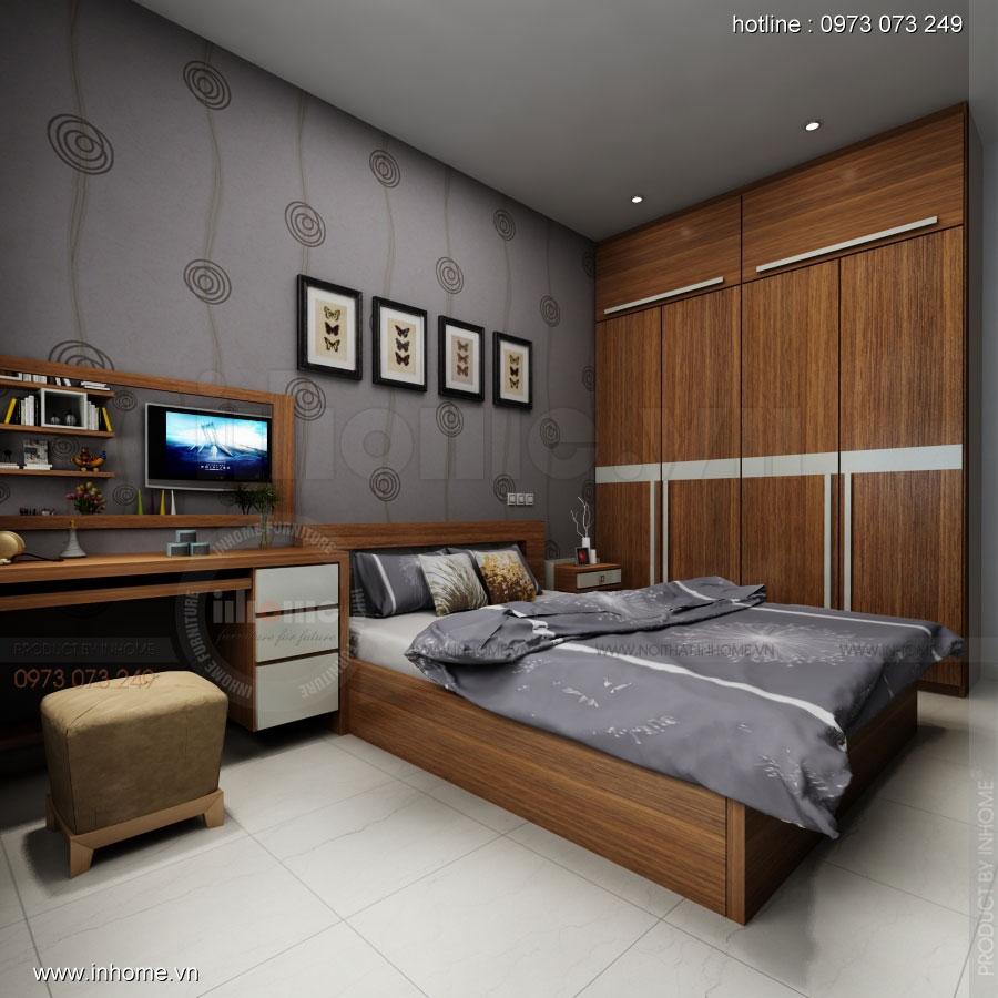 Thiết kế nội thất nhà chia lô, anh Dương
