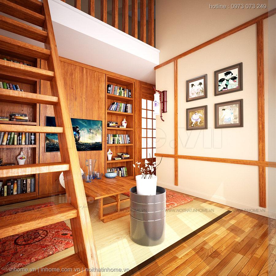 Thiết kế nội thất Biệt Thự phong cách Nhật