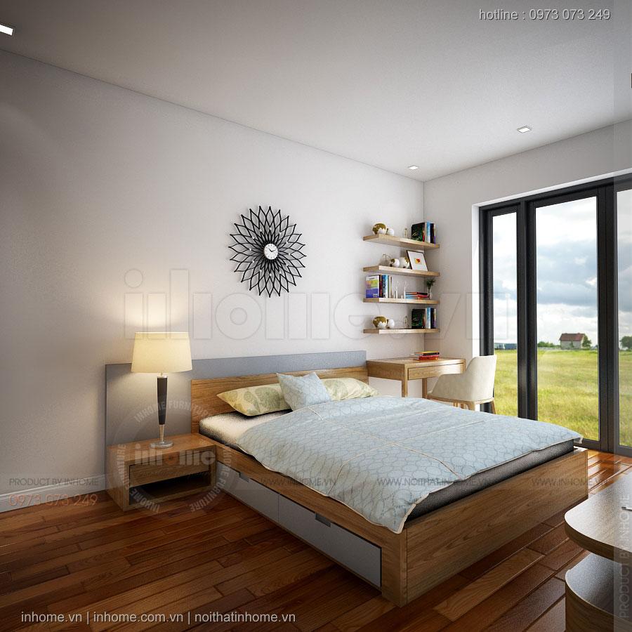 Thiết kế nội thất biệt thự vinhomes riverside sang trọng