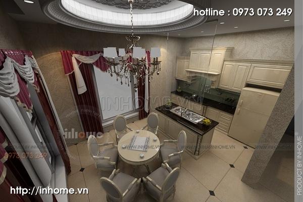 Thiết kế nội thất biệt thự phố Đốc Ngữ