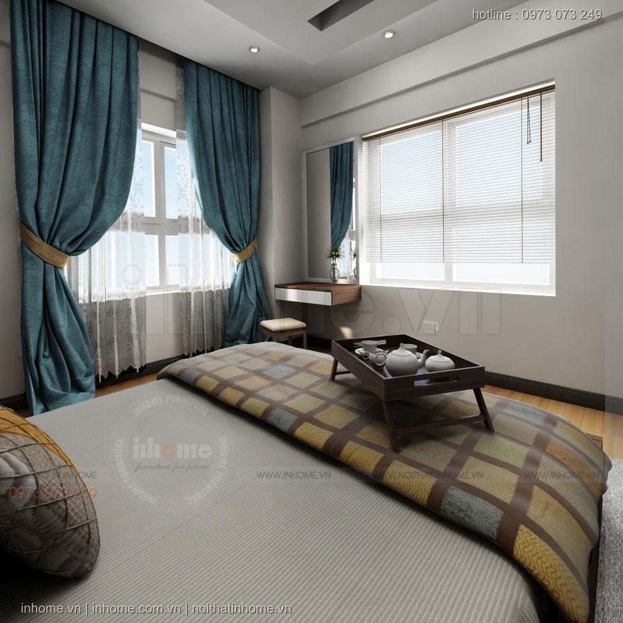 Thiết kế nội thất chung cư chị Hương - Gia Lâm