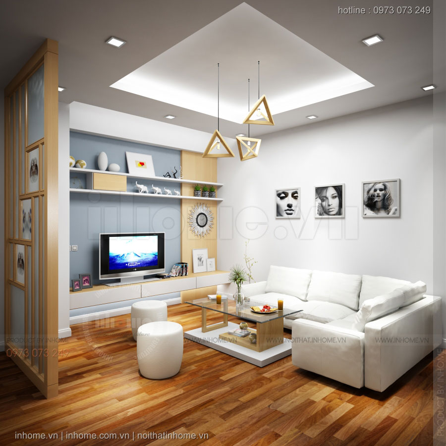 Thiết kế nội thất chung cư Nguyễn Xiển