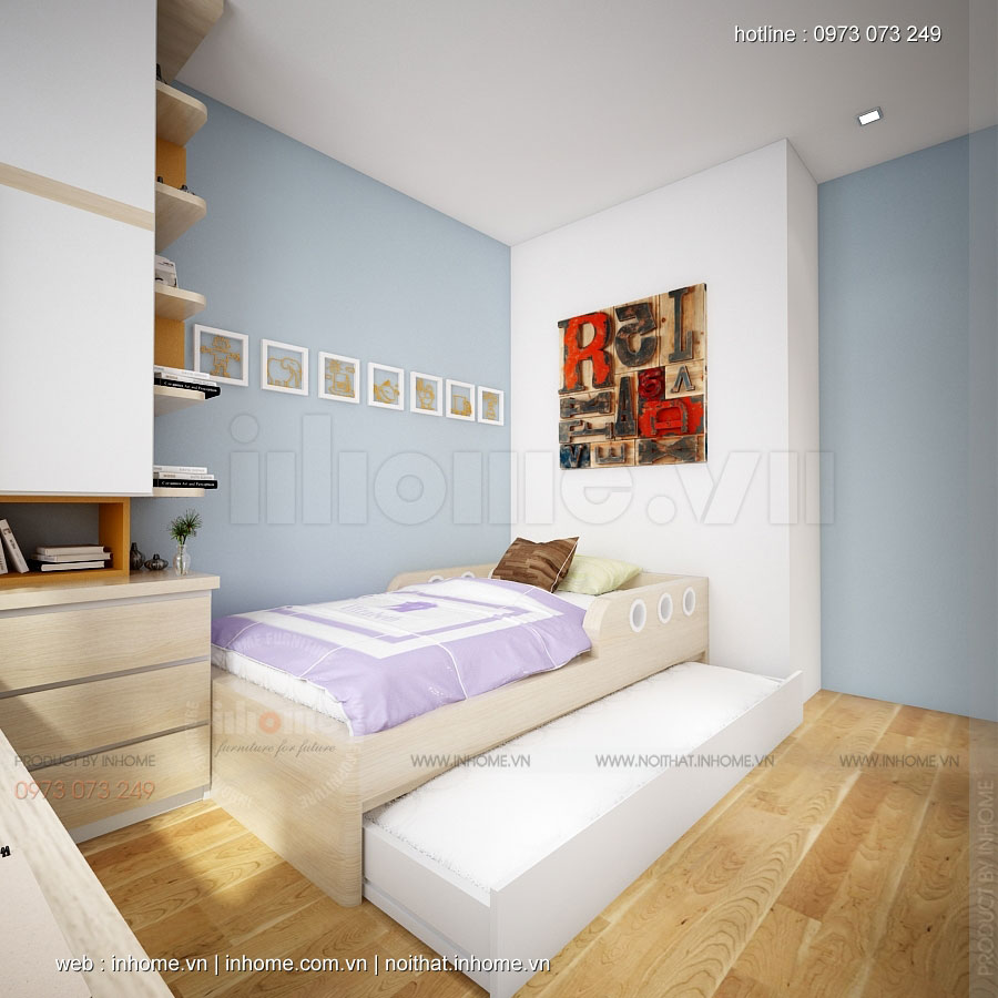 Thiết kế nội thất chung cư Handiland Thịnh Liệt