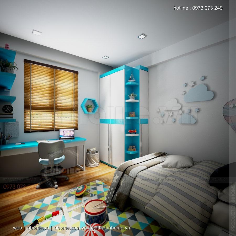 Thiết kế nội thất chung cư Mon City