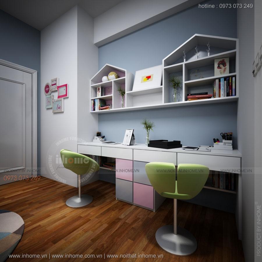 Thiết kế nội thất chung cư Nam Đô
