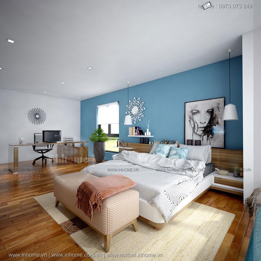 Thiết kế nội thất chung cư Sky City Tower