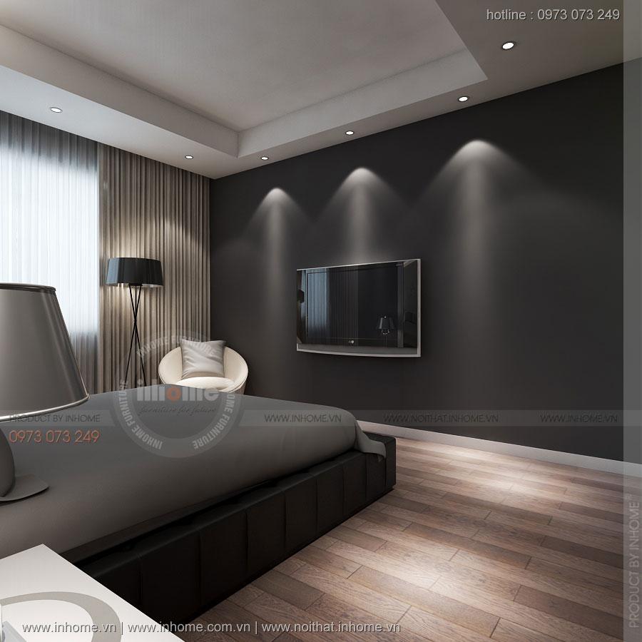 Thiết kế nội thất chung cư 64m2 cho gia đình nhỏ 4 người ở