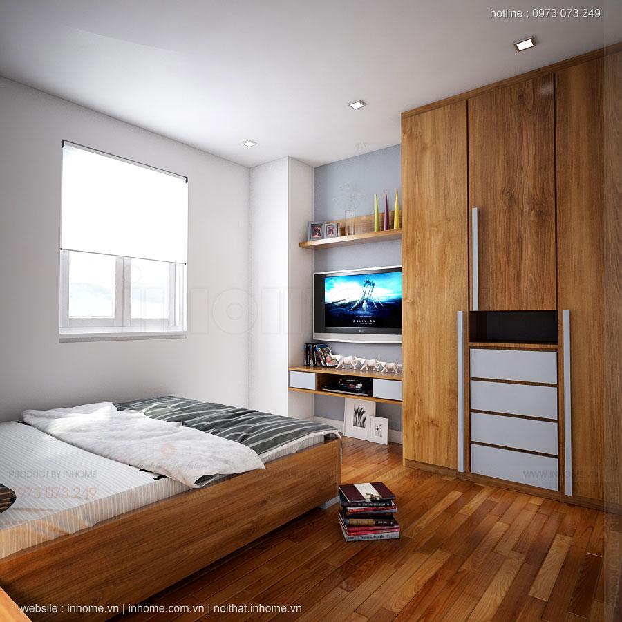 Thiết kế nội thất căn hộ chung cư 80m2