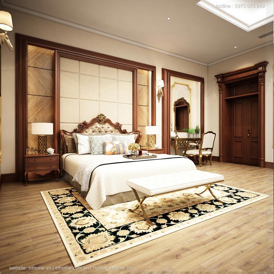 Thiết kế nội thất chung cư phong cách tân cổ điển, sang trọng
