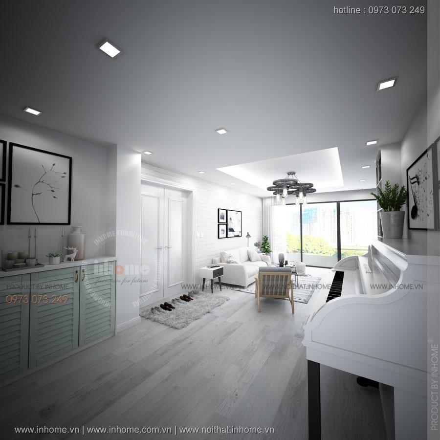 Xu hướng thiết kế nội thất chung cư năm 2017