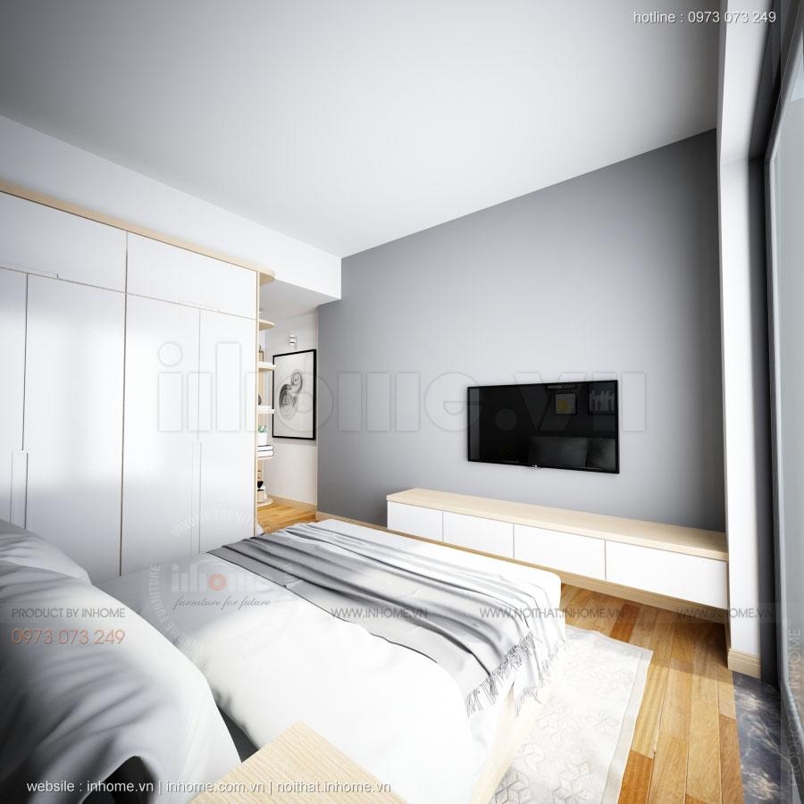 Thiết kế nội thất chung cư 70m2 đẹp sang trọng tiện nghi