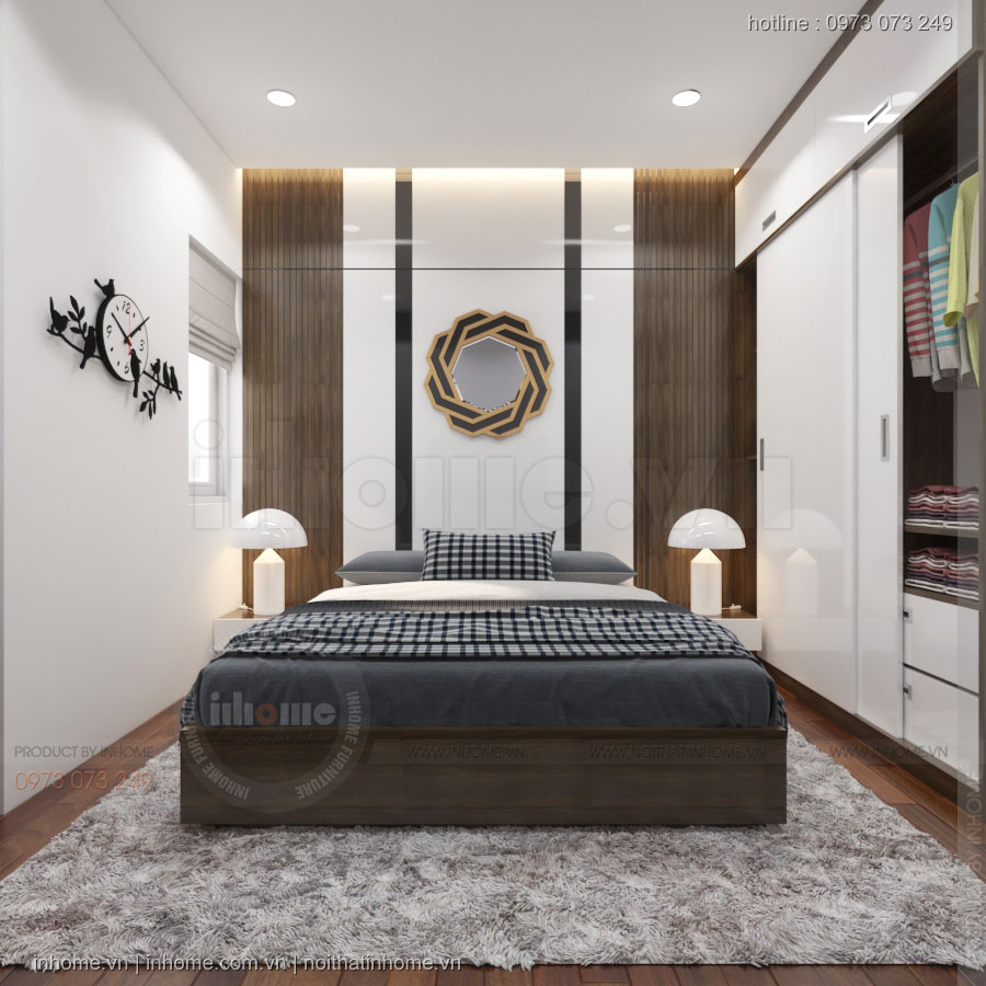 Thiết kế nội thất chung cư NewSkyline-Văn Quán