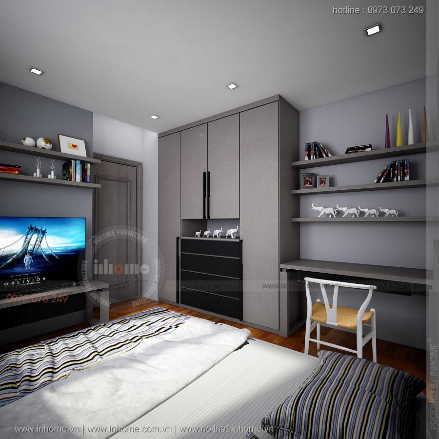 Thiết kế nội thất chung cư Đồng Phát - ParkView