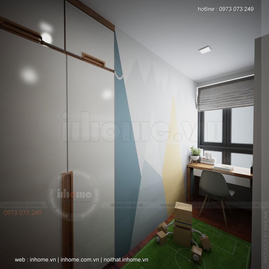Thiết kế nội thất chung cư 789 Ngoại Giao Đoàn