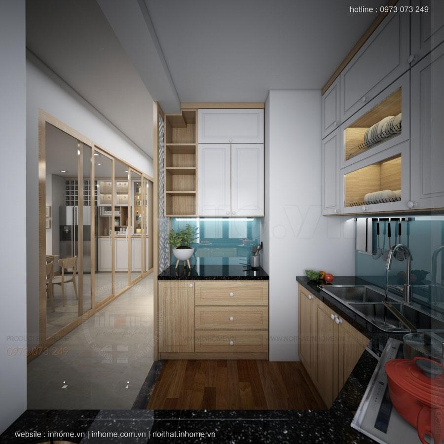 Thiết kế nội thất chung cư N02 T1 Ngoại Giao Đoàn 01