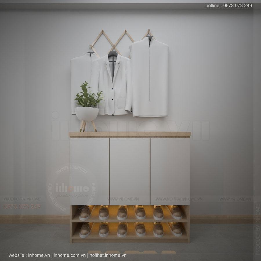 Thiết kế nội thất chung cư N02 T1 Ngoại Giao Đoàn 09