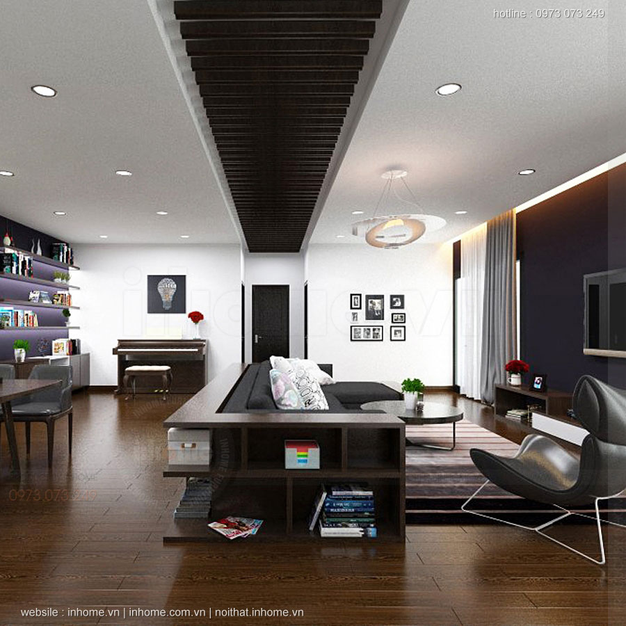 Thiết kế nội thất chung cư Định Công