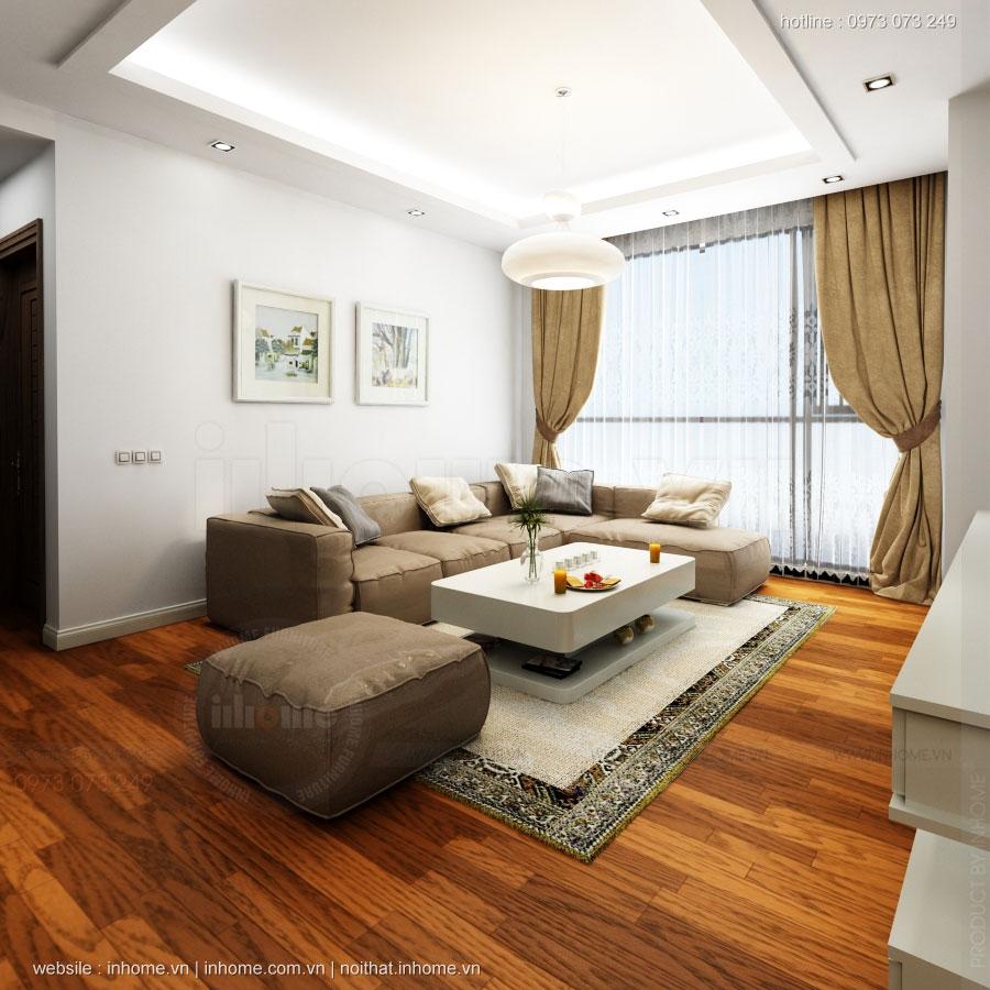 Thiết kế nội thất căn hộ cao cấp Royal City