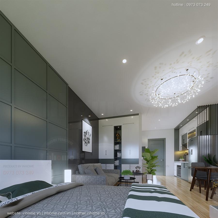 Thiết kế chung cư Vincity Sportia - Căn Studio