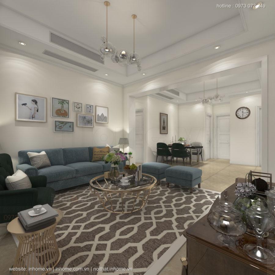 Thiết kế nội thất chung cư Vincity Sportia Tây Mỗ-Đại Mỗ