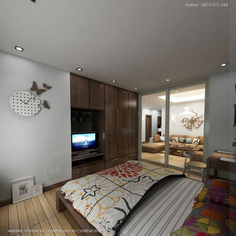 Thiết kế nội thất chung cư Golden Land tinh tế và hiện đại