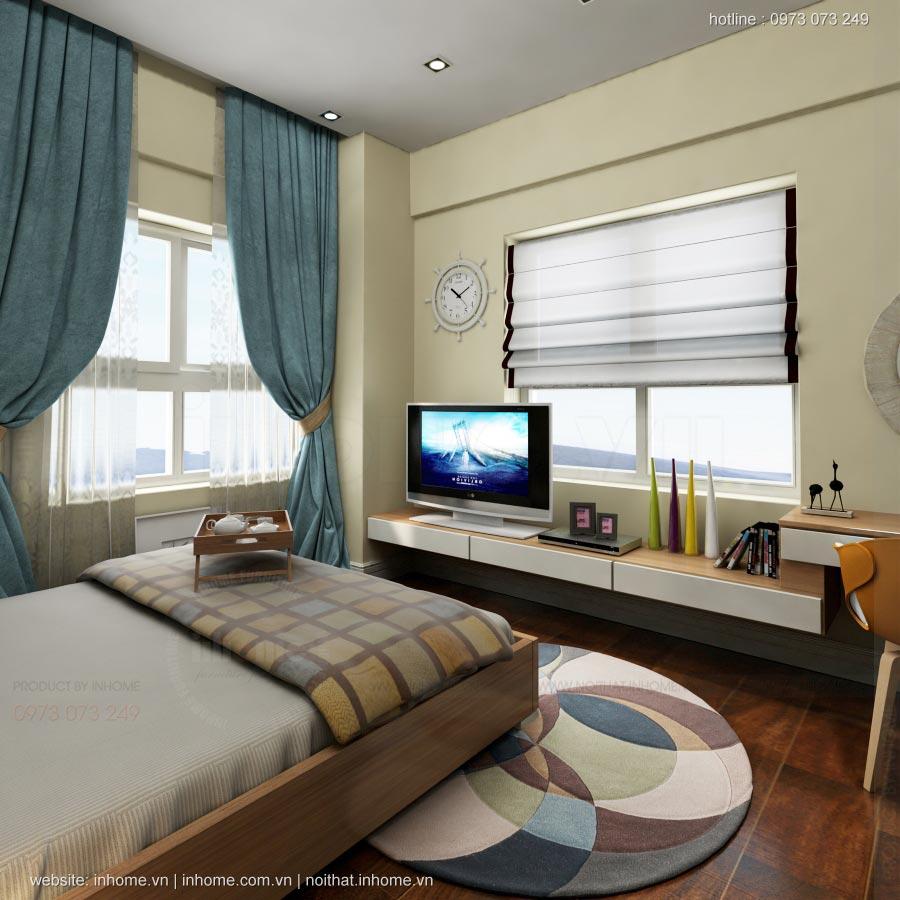 Thiết kế nội thất chung cư Lotus Lake View