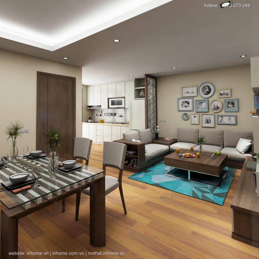 Thiết kế nội thất chung cư Golden Land