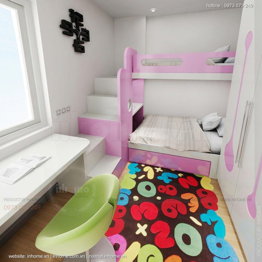 Thiết kế nội thất chung cư Xuân Đỉnh