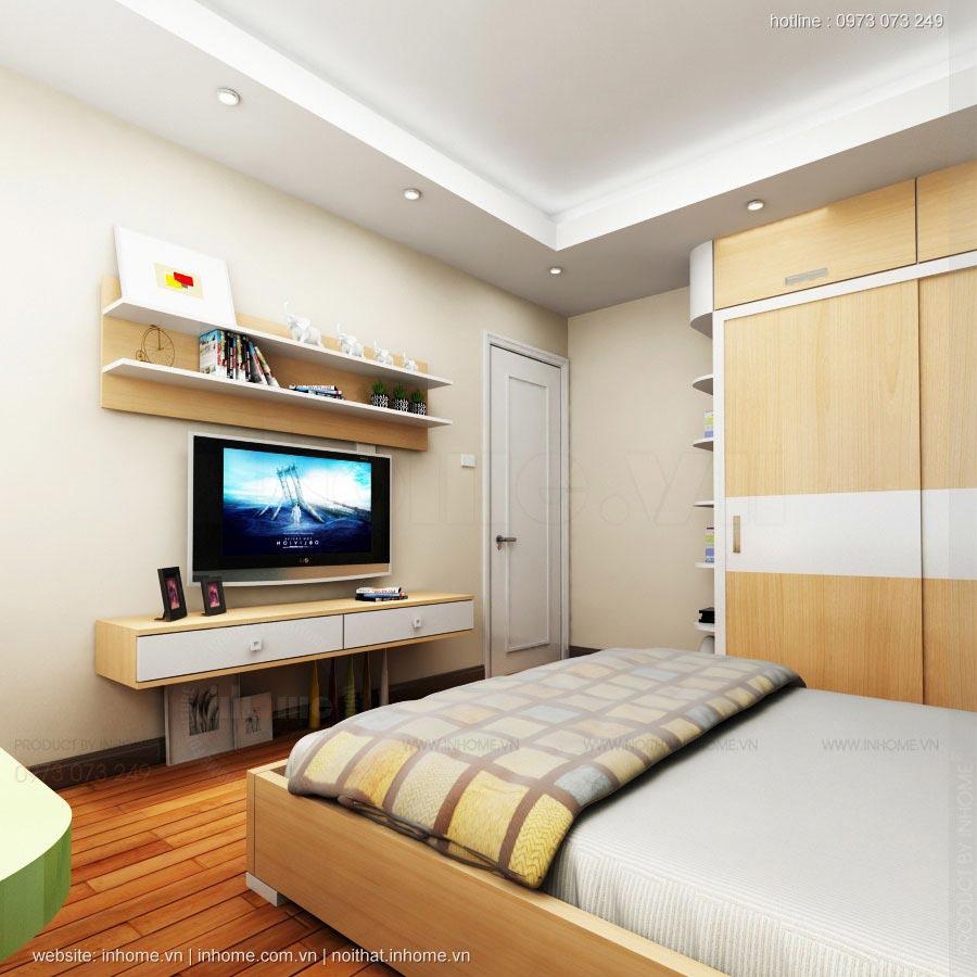 Thiết kế nội thất chung cư 17T1-CT2 Vinaconex 3