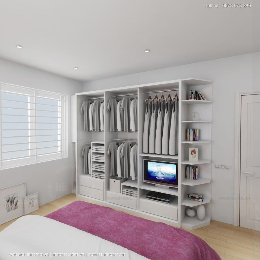 Thiết kế nội thất chung cư 18T2 Lê Văn Lương